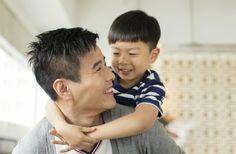 Cách cư xử với con của ông bố tốt