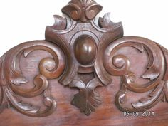 Antique French wooden pediment/cornice/cresting by FrenchBygoneAge. Just beautiful...