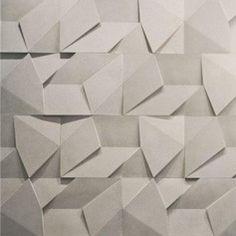 Revestimento cimentício Scaleno 100x50cm cinza