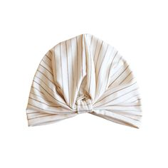Turban - Cream Stripe