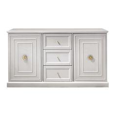 Cupertino 3-Drawer Dove Grey Dresser