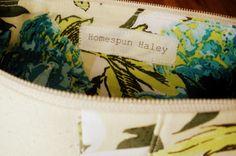 DIY fabric label tutorial