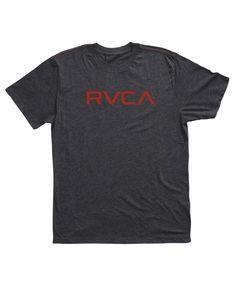 RVCA Mens : Tees / Tanks - Big Rvca