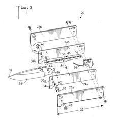 Brevet US20130000129 - Locking mechanism for a folding knife - GoogleBrevets