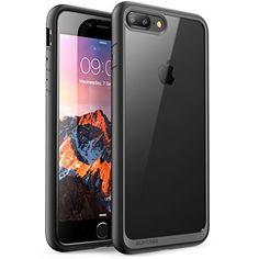 Supcase Unicorn Beetle Hybrid Scratch Resistant Clear Bumper Case for Apple iPhone 7 Plus - Black - http://www.darrenblogs.com/2016/11/supcase-unicorn-beetle-hybrid-scratch-resistant-clear-bumper-case-for-apple-iphone-7-plus-black/