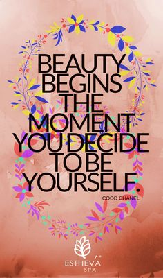 Yes, we are all beautiful in our own unique way. But do not forget to take the time to indulge yourself with a facial, massage or spa treatment, once in a while, if not, on a regular basis. www.estheva.com #spasingapore   #massagesingapore  #facialsingapore