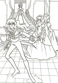 Coloring Pages For Girls, Cute Coloring Pages, Magical Girl, Draw, Manga, Anime, Crafts, Drawings, Coloring Pages