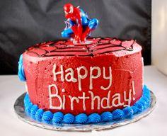 Hiasan Kue Ulang Tahun Anak Super Hero Spiderman