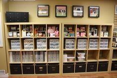 Scrapbook organization and scrappy rooms | Scraptastic Club