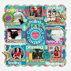 Cindy's Layered Templates - Single 154: Currently by Cindy Schneider Summer Days by Bella Gypsy February 2016 BYOC Styles by Mommyish (subject titles) Journaling Font - DJB Sissy by Darcy Baldwin