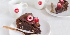 Boodschappen - Brownietaartje met koffiefrosting