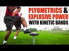Football Speed Training Plyometrics Explosive Power with Kinetic Bands. Visit www.myosource.com and use the coupon code PINIT15 for 15% off football training equipment.