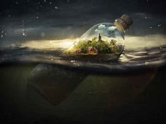 21 Mindbending Pictures That Blend Reality And Fantasy. Click through for more.