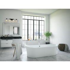 get naked, bathroom decor, bathroom, ship lap, wood wall decor Bathroom Interior, Modern Bathroom, Small Bathroom, Bathroom Hacks, Bathroom Bin, Bathroom Trends, Bathroom Layout, Washroom, Beautiful Bathrooms