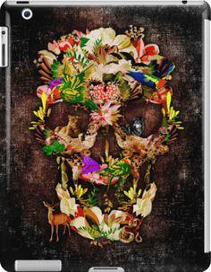 Animal Kingdom Sugar skull iPad Cases & Skins #accessories #case #ipad #tablet #skins #deer #wolf #snake #skull #skeleton #dayofthedead #diasdemuertos #jackskellingtons #halloween #scary #thenightbeforechristmas #animal #bone #tattoo #hippie #hipster #aztec #maya #indian #feather #bird #butterfly #mexico #mexican #hauntedmansion #ghost #monster #sugarskull