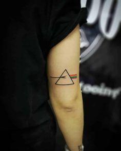 12 Tattoos, Elbow Tattoos, Forearm Tattoos, Sleeve Tattoos, Cool Tattoos, Small Girl Tattoos, Large Tattoos, Prism Tattoo, Physics Tattoos