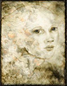 Gelli Arts Print in Photoshop