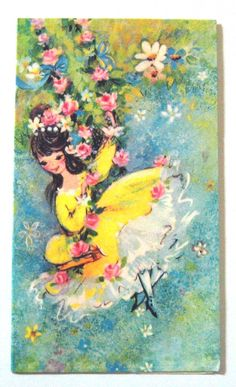 Vintage Greeting Card Blank