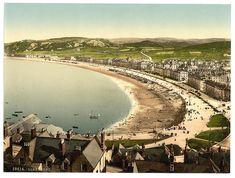 Vintage Edwardian Seaside Photochrome Photo Reprint Rhyl 2 A4