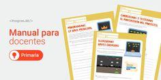 Manual de Computación para docentes. Actividades para primaria. Monopoly, Tech, Curriculum Design, Technology, Tecnologia