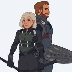 @marvelstudios @marvel please protect these two (credits to the owner on Twitter) #romanogers #evansson #chrisevans #scarlettjohansson…