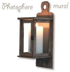 Photophore mural - Woods & Willow