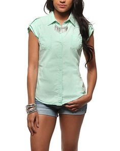 rue21 Washed Chambray Shirt. $18.99