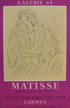 Matisse Dessins-Gravures Rares