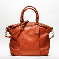 Coach Satchel from the Madison Collection