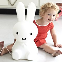 Miffy Lamp by Mr. Maria - so cute by way too expensive for us @ $219.
