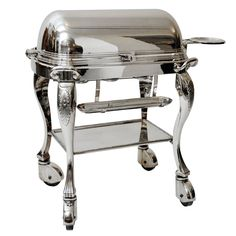 1stdibs.com | Silver Plated Meat Trolley