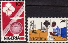 Nigeria 1980 Standards Day Fine Mint As SG 415 6 Scott 394 5 Other British Commonweqlth Stamps for sale here