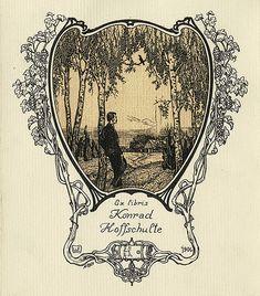 [Bookplate of Konrad Hoffschulte] by Pratt Libraries, via Flickr