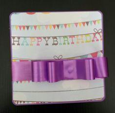 Tarjeta de cumpleaños para niña