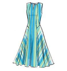V9050 Misses'/Misses' Petite Dress | Easy
