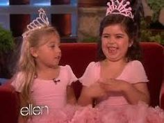 Sophia Grace and Rosie! They are the cutest!