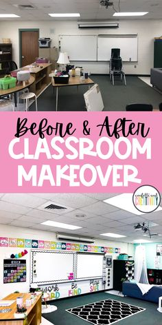 Check out this AMAZING classroom makeover from my Bold Brights Classroom Decor Collection! So many great classroom ideas, organization and resources for your kindergarten, elementary school, middle school or homeschool classroom! Elementary Classroom Themes, Kindergarten Classroom Decor, Classroom Decor Themes, Middle School Classroom, First Grade Classroom, New Classroom, Special Education Classroom, Classroom Design, Classroom Ideas