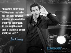 Jim Carrey speaks powerful words in his commencement speech to Maharishi University of Management's class of 2014 in Fairfield, Iowa. #JimCarrey #LifeLessons