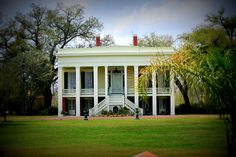 This plantation was used in the movie 12 Years A Slave. Southern Plantation Homes, Southern Mansions, Louisiana Plantations, Louisiana History, New Orleans Mardi Gras, Antebellum Homes, Grand Homes, Large Homes, House Design