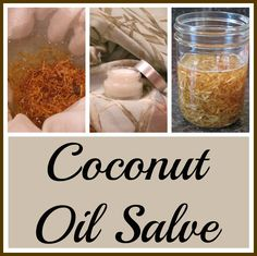 Coconut Oil Salve