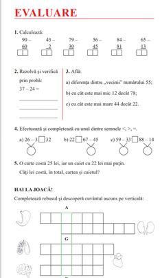 Clasa I : Supercaietul meu de vacanţă - clasa I | School lessons, Lessons activities, School