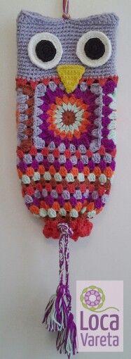 Guarda bolsas para la cocina... de la suerte! Crochet Granny, Filet Crochet, Plastic Bag Crochet, Crochet Organizer, Crochet Kitchen, Crochet Stitches Patterns, Crochet Gifts, Yarn Crafts, Crochet Projects