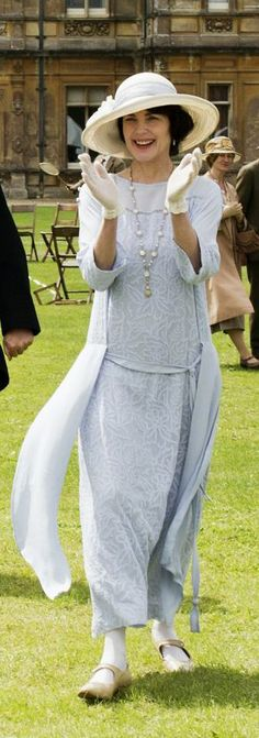 Cora, blue lace and chiffon dress Church Bazar Season IV