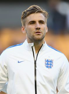 Luke Shaw Photos: England v Croatia