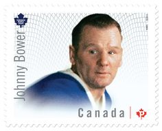Johnny Bower Stamp : 2015 Canadian Postage Stamps - 'Goaltending Greats who transformed Hockey' Canadian Coins, Canadian Men, Nhl Season, Hockey Baby, Chat Board, True North, Toronto Maple Leafs, Stamp Collecting, Ufc