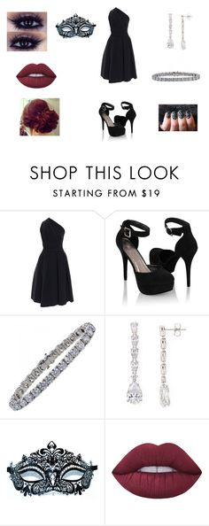 """Untitled #748"" by cjfulmer on Polyvore featuring Preen, Forever 21, Tiffany & Co., Nadri, Masquerade and Lime Crime"