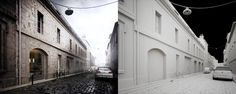 STUDENT HOUSING in Bordeaux by Pawel Podwojewski, via Behance