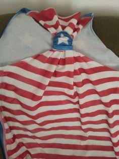 4th of July DIY shirt (back)