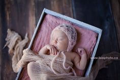 SOFT SALOMON KISS handmade crocheted hat made with mohair wool . Fits from newborn to 3 months.  Perfect Photography Prop.    All of the handmade