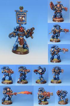 Ultramarines Tactical Squad Solinus